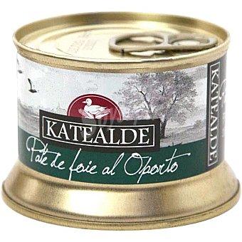 Katealde Pate de foie al Oporto 35% foie lata 130 g lata 130 g