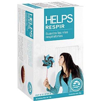 HELPS Infusión Respir suaviza las vías respiratorias Estuche 20 bolsitas