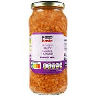 Eroski Lenteja cocidas Frasco 400 g