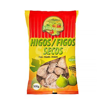 Villacruz Higos secos enharinados Paquete 500 g