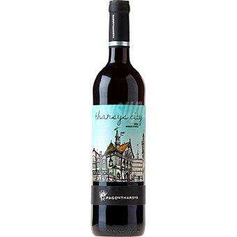 Pago de Tharsys City vino tinto bobal 100% madurado en barrica D.O. Utiel Requena Botella 75 cl