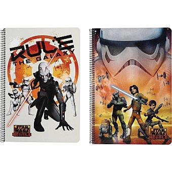 Star Wars Cuaderno tamaño Folio Tapa Dura 80 hojas