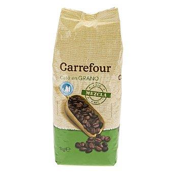 Carrefour Café en grano mezcla 1 kg