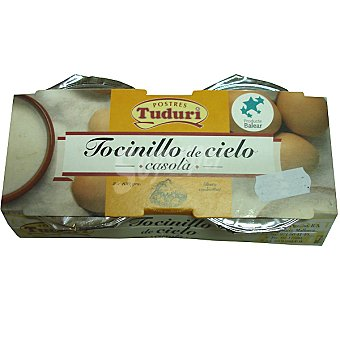 Tuduri Tocinillo de cielo Pack 2 unds. 125 g