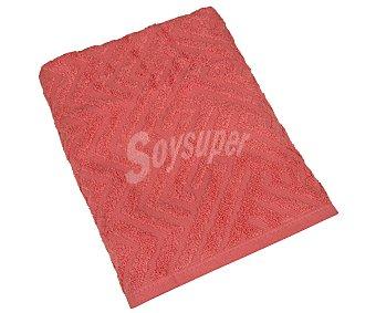 Actuel Toalla de ducha naranja, 100% algodón, torsión 0, /m² de densidad, 70x140cm 400g