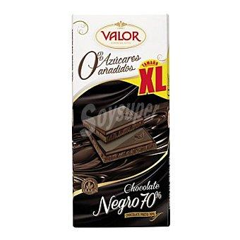 Valor Chocolate negro 70% 0% azúcares añadidos xl 180 g