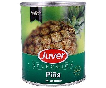 Juver Piña cortada en rodajas Lata 490 g (peso neto escurrido)