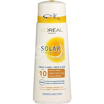 Expertise L'Oréal Paris Leche solar fresca & ligera FP-10 resistente al agua Bote 250 ml