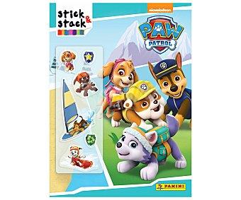 Panini Stick & Stack Patrulla Canina, vv.aa. Género: infantil, libro-juego. Editorial Panini