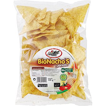 El granero Bionachos de maíz sabor barbacoa Bolsa 125 g