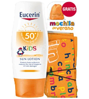 Eucerin Pack Lotion 50+ Kids + Regalo Mochila 150 ml