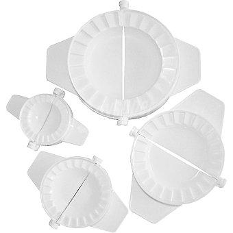 IBILI Molde de plástico para empanadillas set de 4 unidades