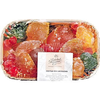CALIDAD ARTESANA Fruta escarchada Bandeja 450 g