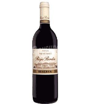 Bordón Vino denominación de origen Rioja tinto reserva 75 cl