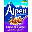 Muesli sin azúcar blueberry-cherry-almond alpen Caja 560 g Alpen