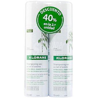 Klorane Champú seco de avena Pack 2x150 ml