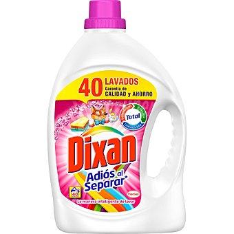 Dixan Detergente máquina líquido Adiós al Separar botella 40 dosis 40 dosis