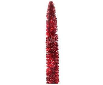 Actuel Espumillón de 2 metros de color rojo ACTUEL.