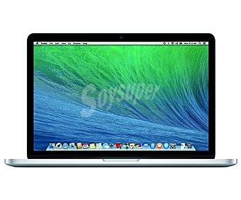 APPLE MACBOOK PRO Ordenador portátil con pantalla retina de 13.3'' apple Macbook MGX72Y/A, procesador: intel i5 2,6GHz con Turbo Boost: 3.1GHz, Ram: 8GB, disco duro: SSD 128GB, gráfica: Intel Iris Graphics, Mac Portátil 13.3''