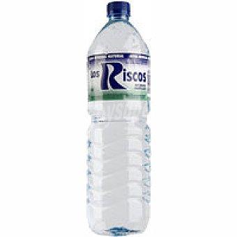 Los Riscos Agua mineral natural Botella 1,5 litros