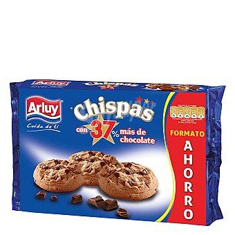 Arluy Cookies chispas de chocolate 375 g