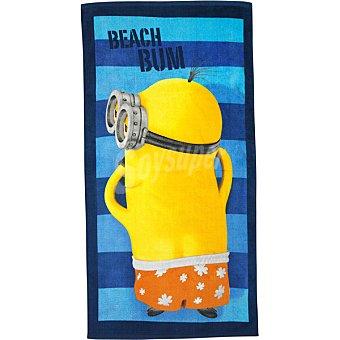 Ceys Minnions toalla de playa Velour 75 x 150 cm