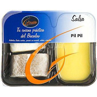 Giraldo Bacalao + salsa al pil pil Bandeja 300 g