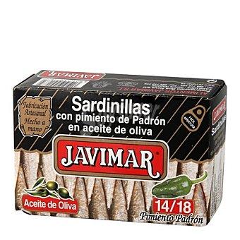 Javimar Sardinillas con pimiento de padrón en aceite de oliva 14/18 88 g