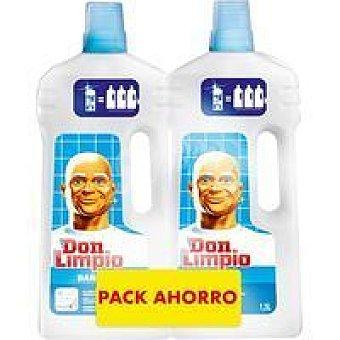 Don Limpio Limpiador de baño Pack 2 x 1,5 litros