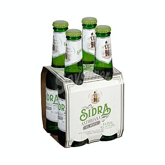 El Mayu Sidra Botellin pack 4 x 250 ml - 1000 ml