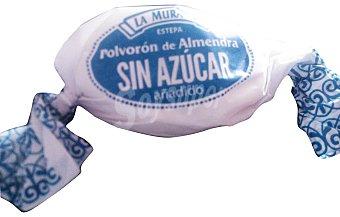 La Muralla Surtido granel polvoron almendra sin azúcar *navidad* 1 u (50 g peso aprox.)