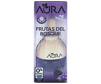 Aura Ambientador de coche con perfumador de madera para colgar con olor a frutas del bosque aura