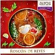 Roscón de Reyes con nata congelado sin gluten Envase 550 g Airos