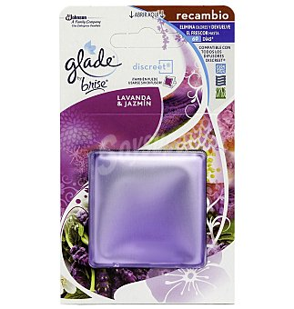 Glade Brise Ambientador discreet lavanda recambio 1 UNI