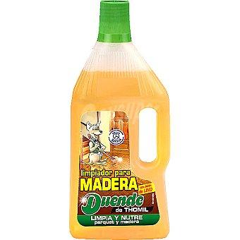 EL DUENDE Limpiador jabonoso madera Botella 750 ml
