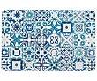 Mantel plástico individual 43,5x28,5cm., diseño Baldosa, Renova quid  QUID Renova
