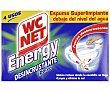 Limpiador energy polvo activo Paquete 4 unidades WC Net