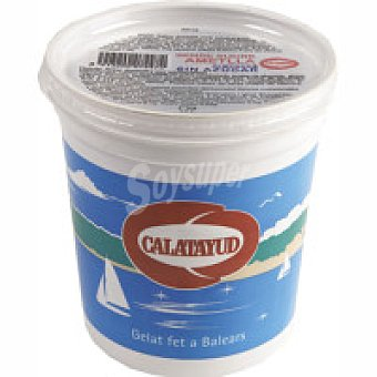 Calatayud Helado de almendra sin azúcar Tarrina 450 g