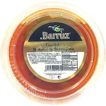 Barruz Aceitunas gordal rellenas de berenjena Tarrina 250 g neto escurrido