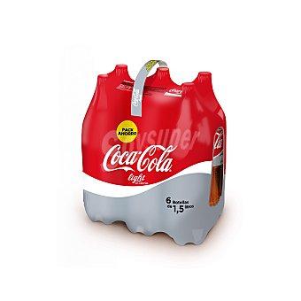 Coca-Cola Refresco de cola light Pack 6x1,5 l