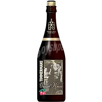 TIMMERMANS Oude Kriek Limited Edition cerveza belga botella 75 cl