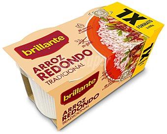 Brillante Arroz redondo para microondas Brillante Pack de 2 ud. de 200 g