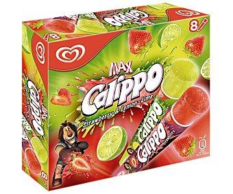 Frigo Calippo Calippo de lima-limón-fresa Pack 8x105 ml