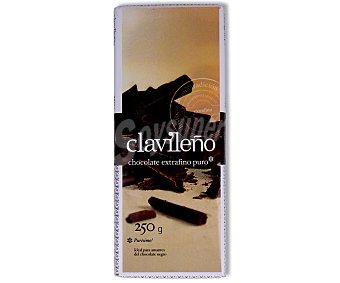 Clavileño Chocolate extrafino puro 250 gramos