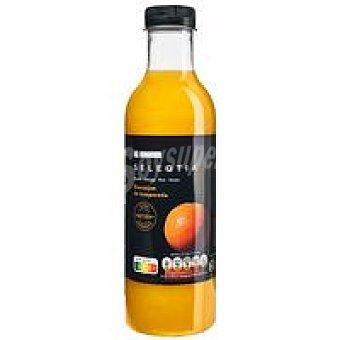 Eroski Seleqtia Zumo recién exprimido de naranja Eroski Botella 75 cl