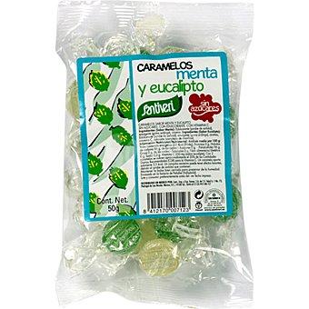 Santiveri Caramelos menta eucalipto sin azúcar Envase 50 g