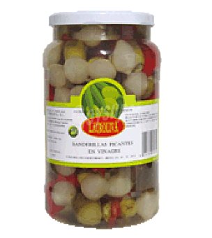 Lauroliva Banderillas Picantes en Vinagre 550 g