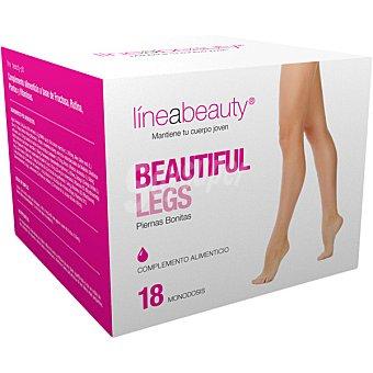 LINEABEAUTY Piernas Bonitas mantiene tu cuerpo joven envase 370 g 18 monodosis