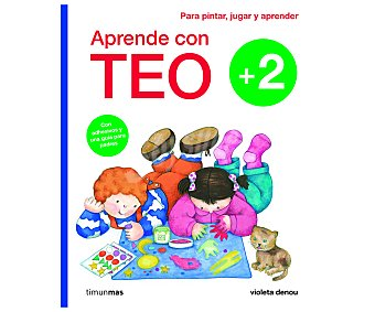 Timunmas Cuaderno de vacaciones Aprende con Teo +2 años, violeta denou. Género: vacaciones, actividades. Editorial Timunmas. Descuento ya incluido en pvp. PVP anterior: