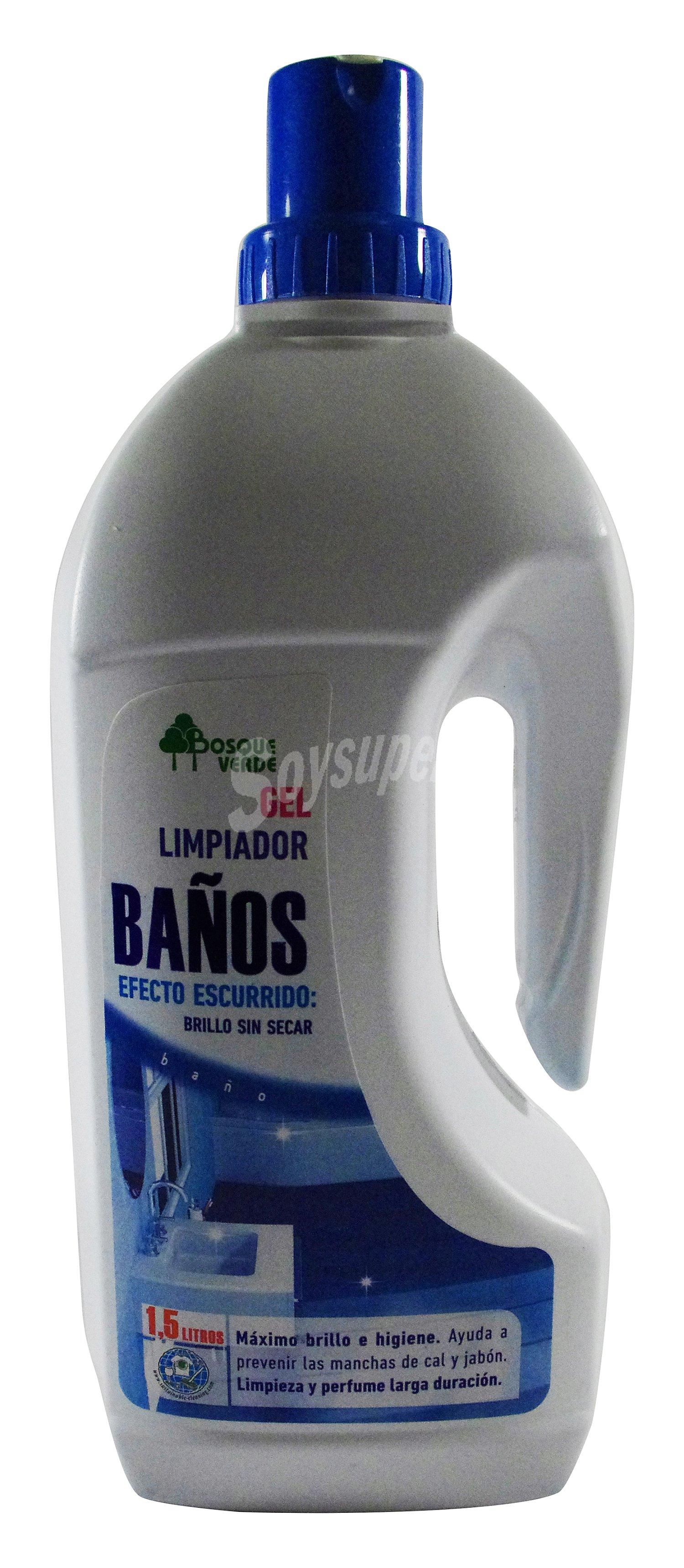 Gel De Baño Bottega Verde:Bosque Verde Limpiador baño gel Botella 1,5 l Cómpralo en Soysuper